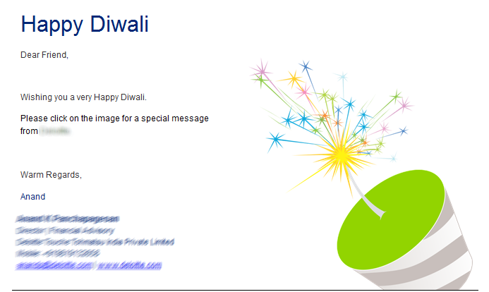 Emails that worked for me in the diwali overload juvlon it m4hsunfo