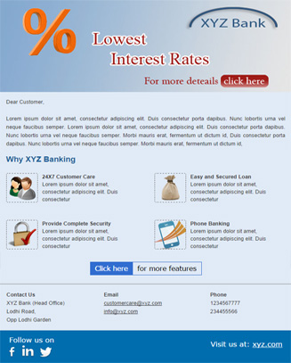 Corporate Banking Theme