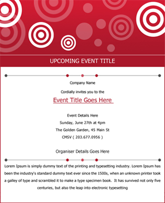 Event Red Theme