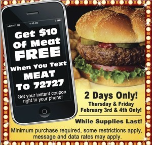 Image 1 restaurant sms campaign
