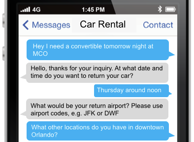 Customer Support SMS Example