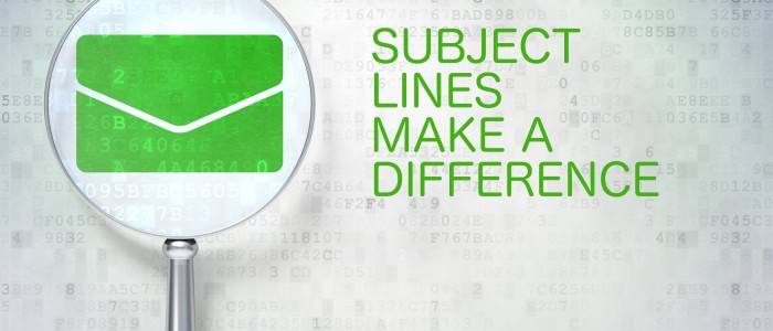 Write irresistible Subject Lines for email