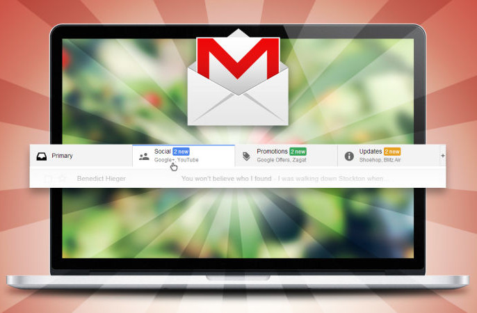 Understand the Impact of Gmail's Tab Layout