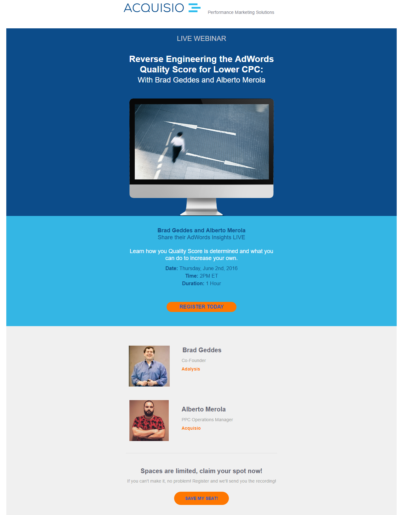 event marketing using emails