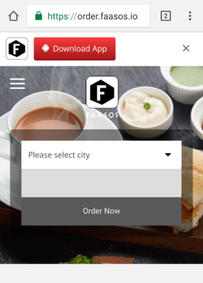 faasos-website-order