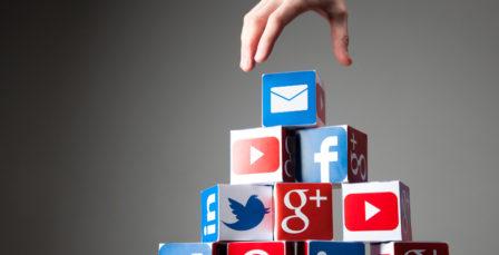 email social blog integration