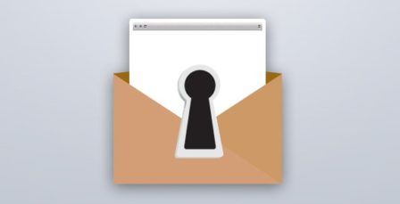 Email authentication banner