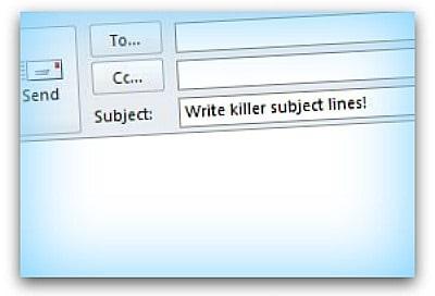 effective subject line