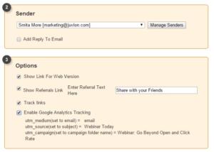 Juvlon insert Google Analytics Tracking code