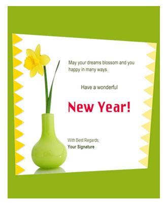 Greeting Green Theme