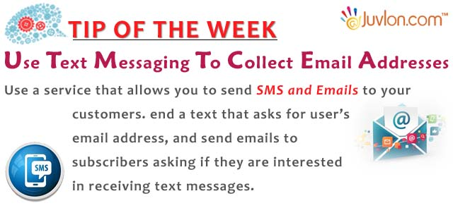 SMS and Email
