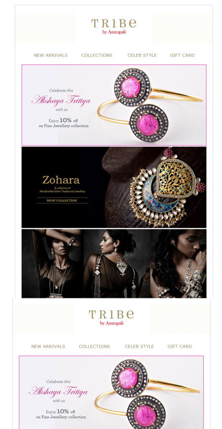 Tribe Email Marketing Campaign Example
