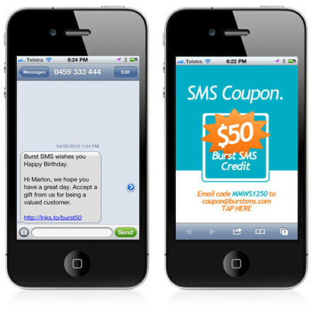 Coupon SMS Marketing