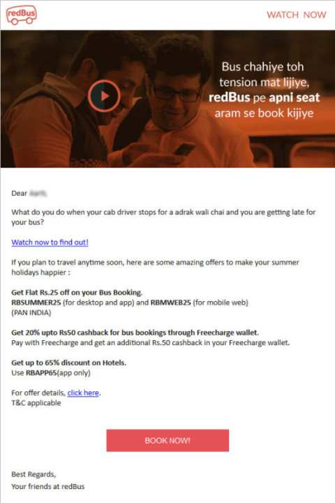 Weather Targeting Email Mrketing