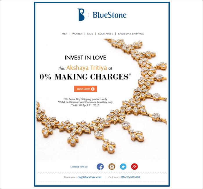 Email marketing strategies by Bluestone