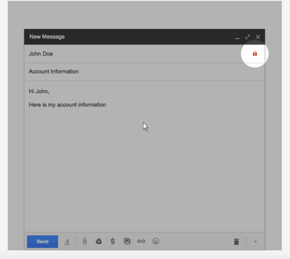 Google's Authentication Warning for Email
