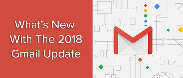 Gmail update 2018