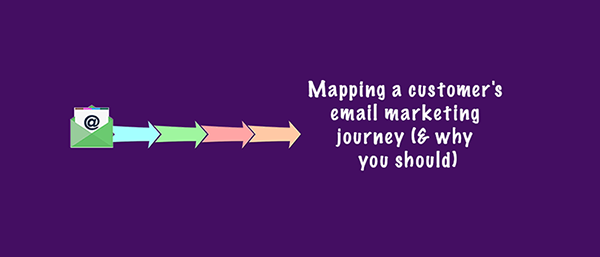 Mapping a customer's email marketing journey