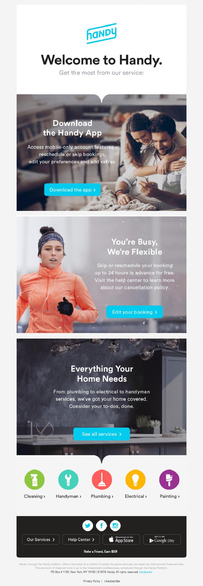 Focus on email design