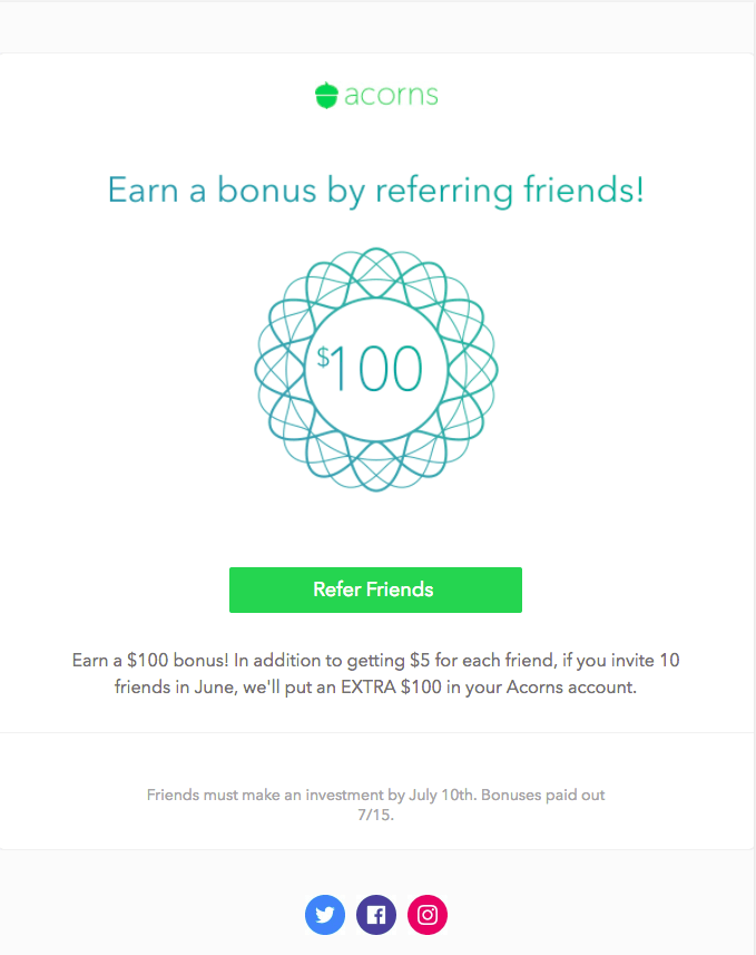 Example of Referral email