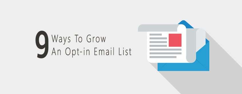 Ways to grow opt-in email list